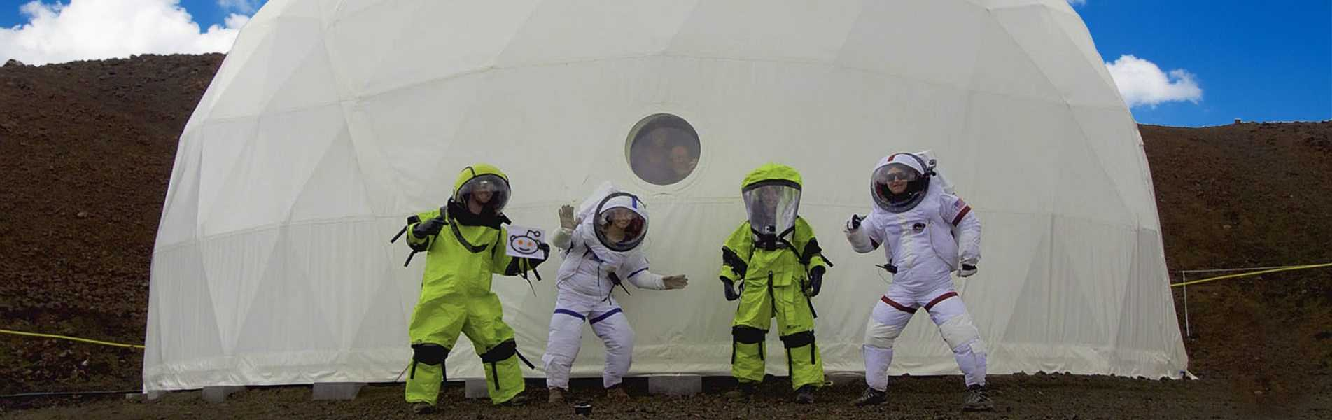 Hi Seas Mission Mars Dome