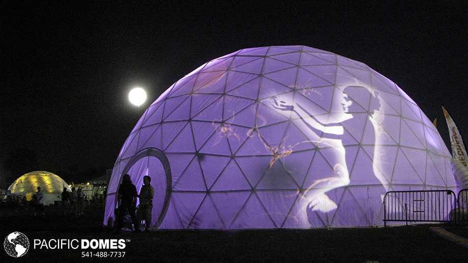 Illumination Event Tent