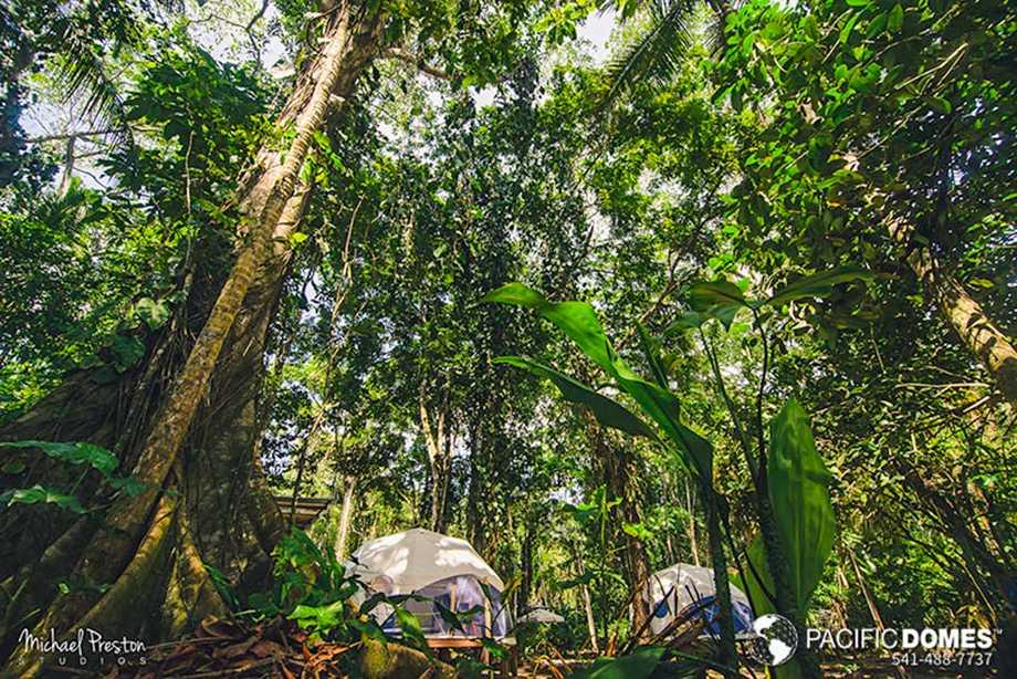 Faith glamping, domes Costa Rica