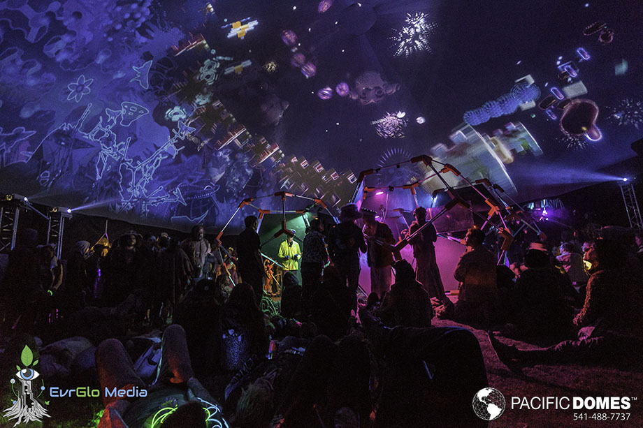 VR, full dome immersive, 360 VR projections