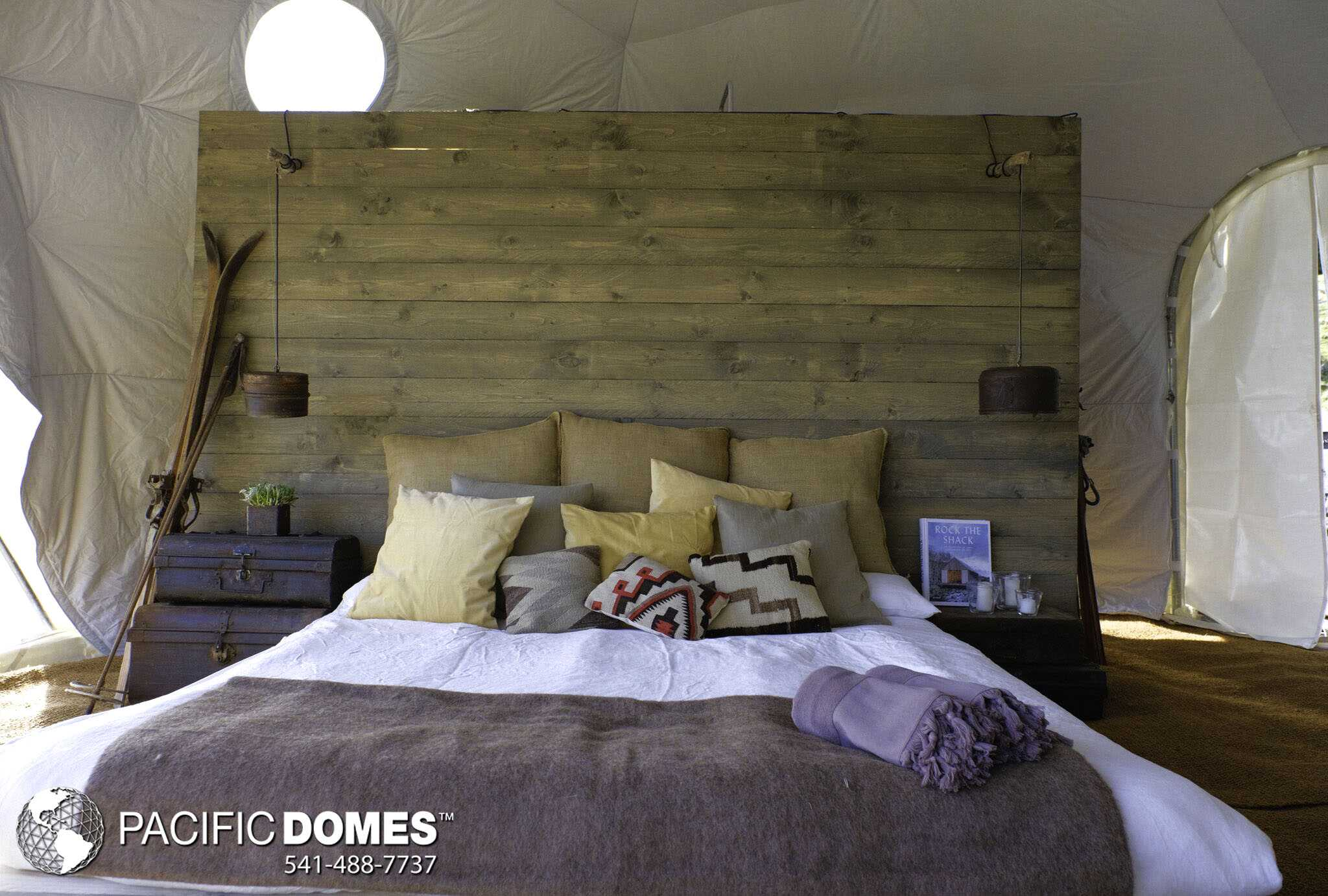 Dome Home Bedroom