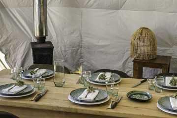 Eco hospitality glamping biz