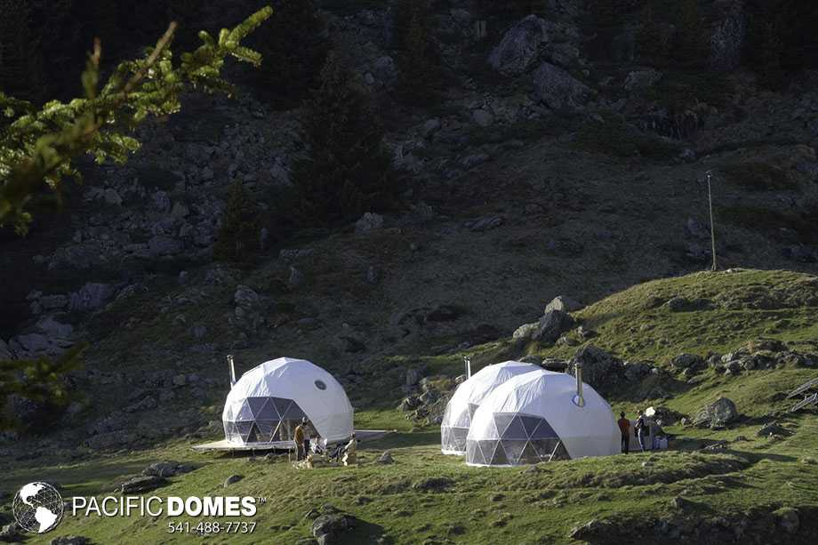 Glamping Domes in Switzerland