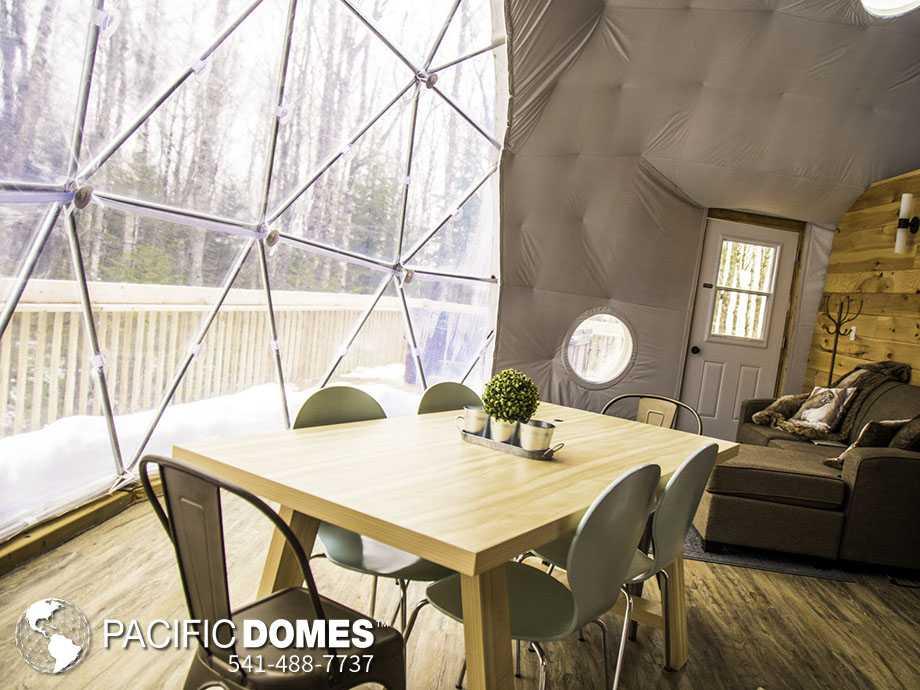 natural habitat domes