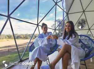 resort glamping tents, resort-style glamping tents