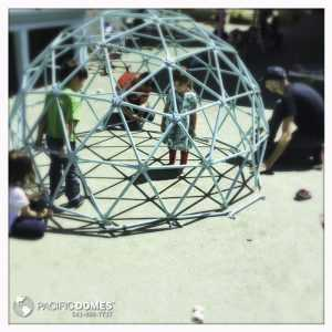 Playground climbing domes - Pacific Domes