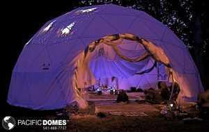 Sound Light Healing Dome
