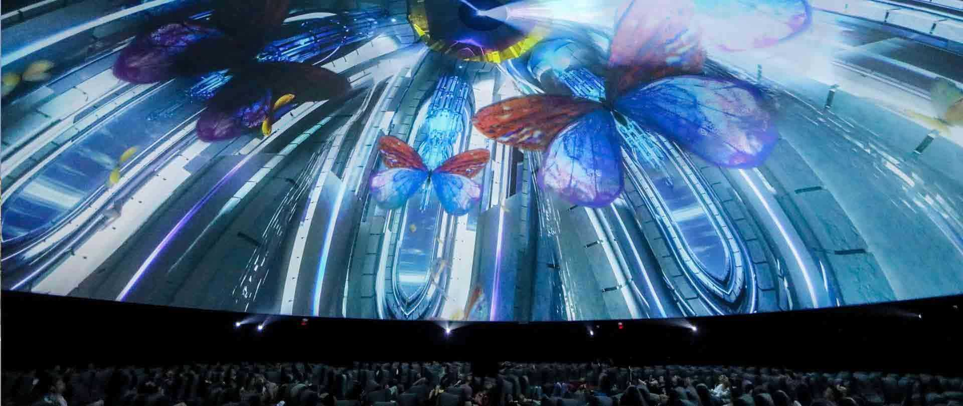 120ft Coachella Projection Dome