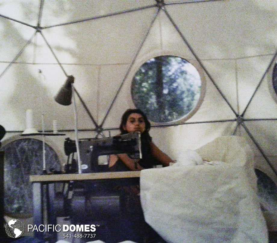 Asha sewing domes