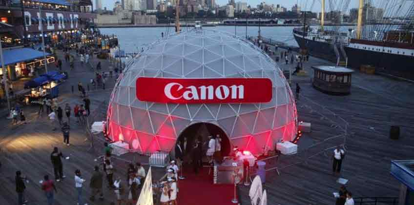 Event Dome with Exterior Frame