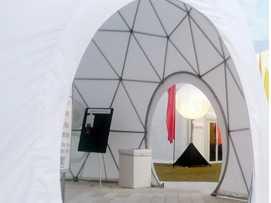 Dome Round Hoop Door