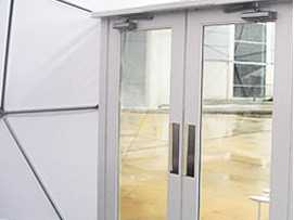 Dome Double Prehung Doors