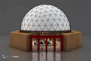 3d Dome Modeling