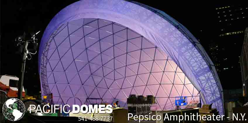 Pacific Domes - Amphitheaters
