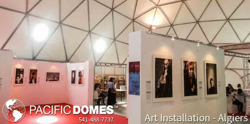 Pacific Domes - Art Installations