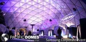 Pacific Domes Corporate Domes