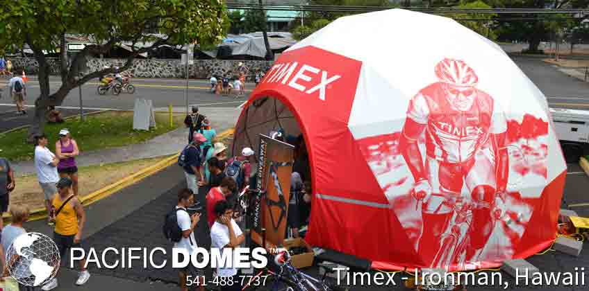 Pacific Domes - Promotional Tours