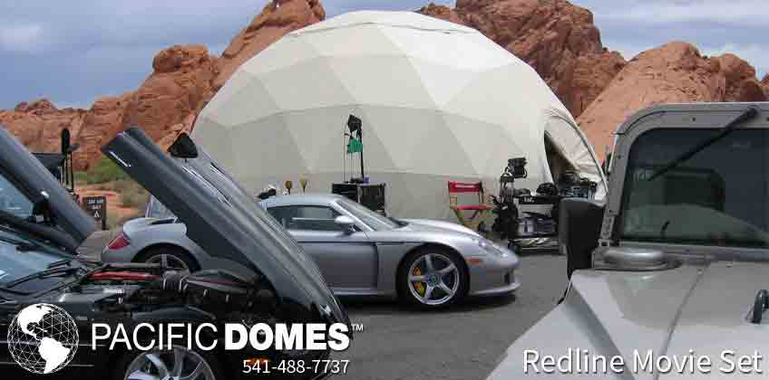 Pacific Domes - Movie Set Domes