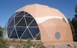 Dwell Dome with Thermoshield Insulation Paint