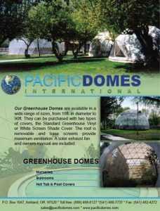 Greenhouse Domes Brochure