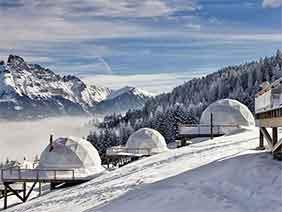 Winter Resort Domes