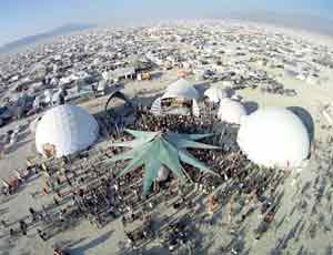 Burning Man Festival Domes