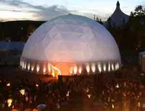 Google Zeitgeist Festval Dome