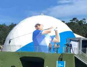 Printed Event Dome for PGA
