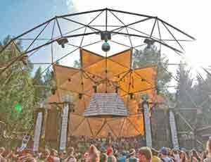 Shambhala Music Festival Dome