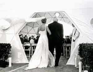 Treasure Island Wedding Dome