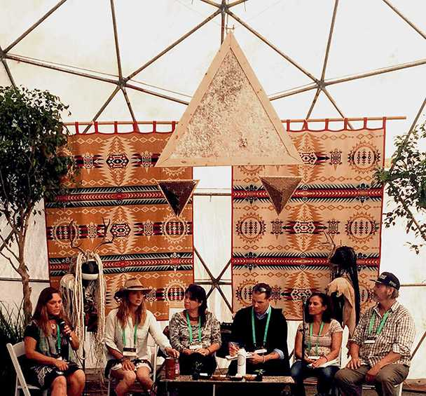 Bioneers in a dome