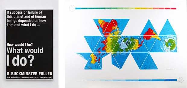 Buckminster Fuller Edward Cella Exhibition Los Angeles