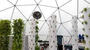 aquaponics dome