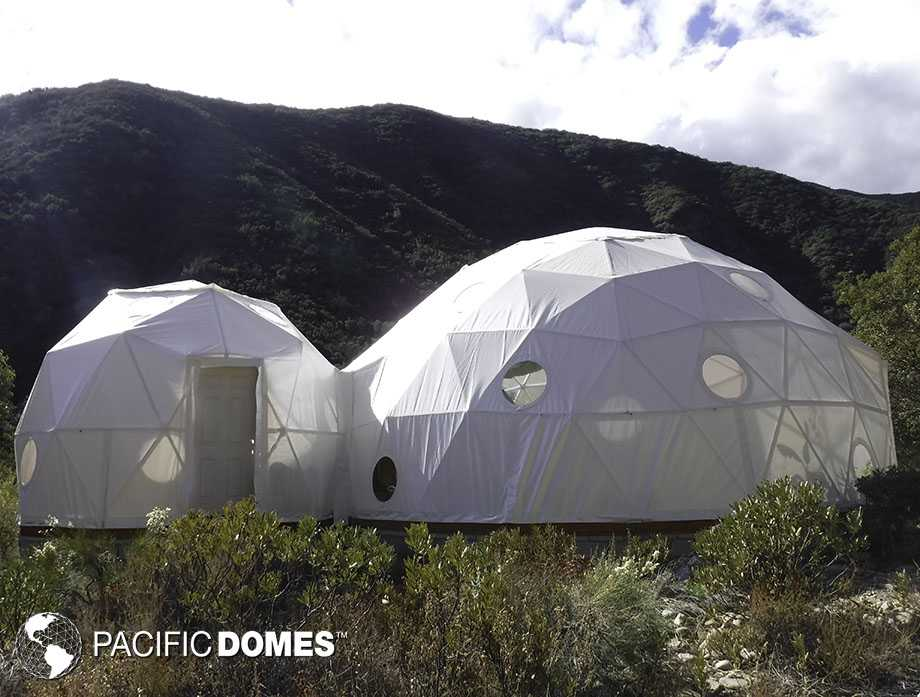 Connected Domes - Pacific Domes