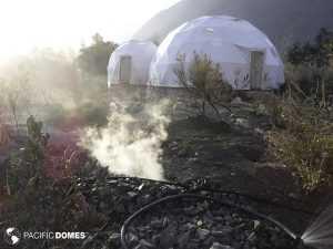 Connected Domes Ojai California