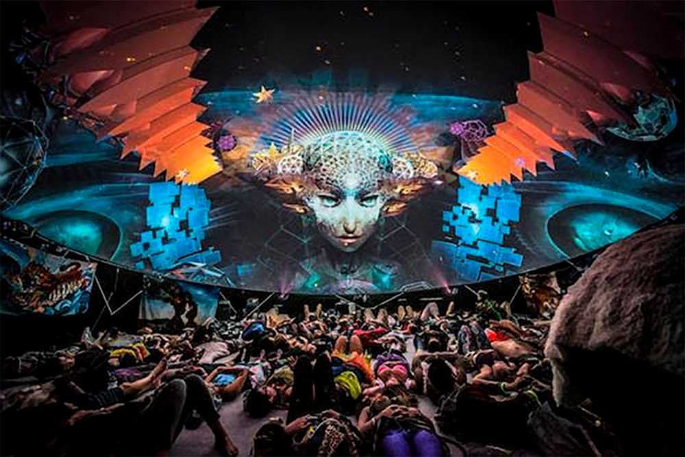 Projection Dome Mapping