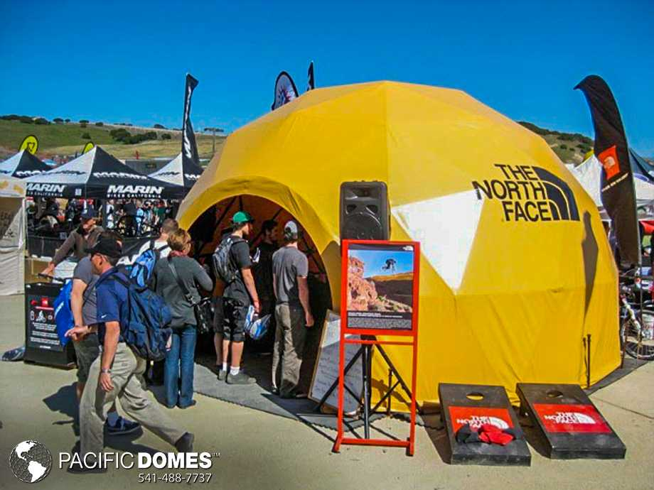 North Face branded Event Dome