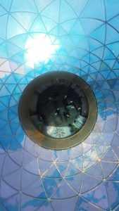 The Buckminster Fuller-designed Fuller Dome