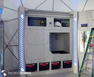 Astronaut Lockers