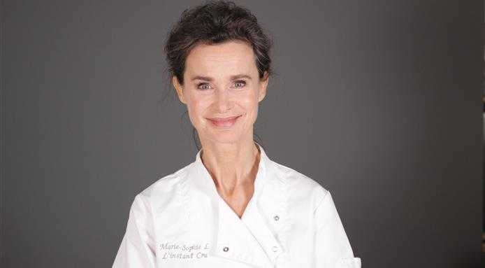 Marie Sophie is a raw-vegan chef