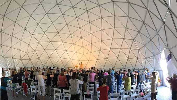quigong dome, healing dome, event dome
