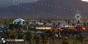 Coachella, festival dome, event dome, 360 projection dome