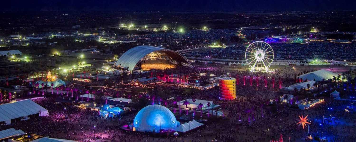 coachella, pacific domes, 360 projection dome, event dome , music festival dome