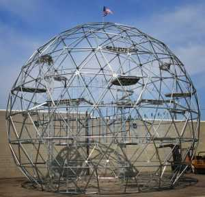 Geodesic Domes Ropes Course