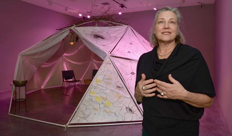 art dome, event dome, dome