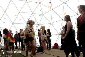 event dome, Renn Fayre dome