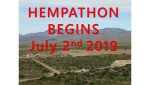 VVKC Hempathon Begins 7-2-19