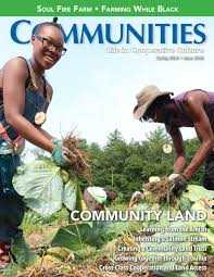 Intentional Communities Magazine - Spring 2019