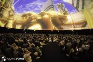 HP's 120' (36m) Antarctic Dome at Coachella