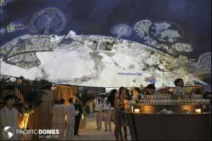 projection dome, virtual reality vacation